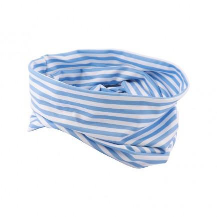 JRB Women's Golf Snood - Blue Stripe