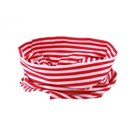 JRB Women's Golf Snood - Red Stripe
