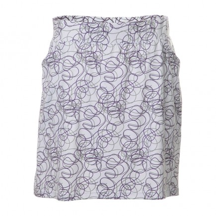 JRB Women's 'Pull On' Golf Skort - Purple Twirl