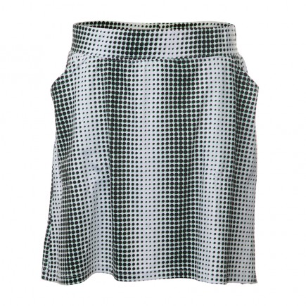 JRB Women's 'Pull On' Golf Skort - Black Spot