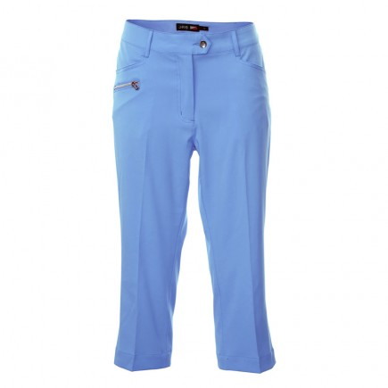JRB Women's Golf Capri Trousers - Blue
