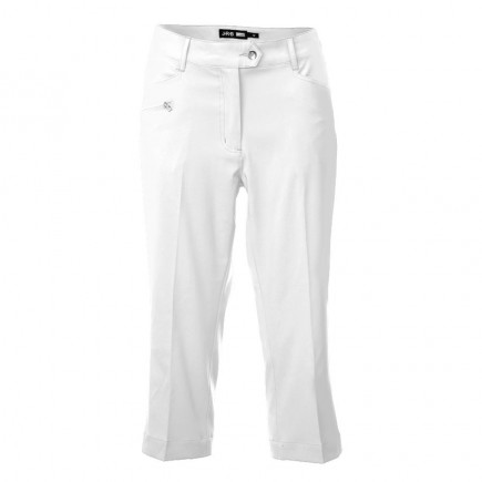 JRB Women's Golf Capri Trousers - White
