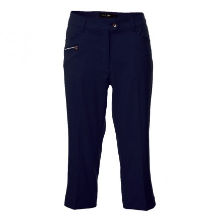 JRB Women's Golf Capri Trousers - Navy