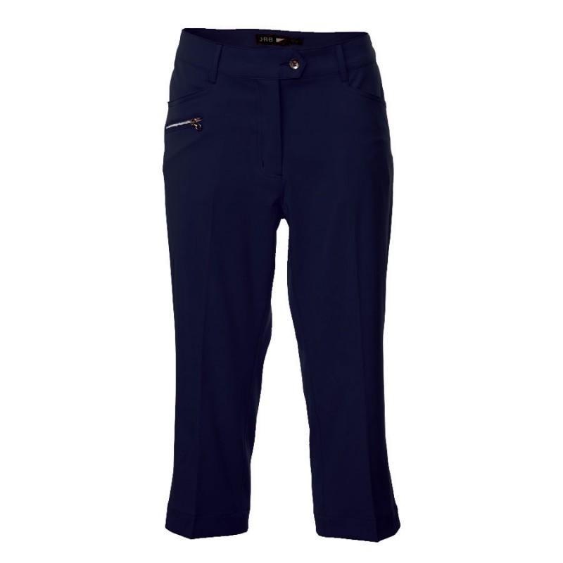JRB Women's Golf Capri Trousers - Navy