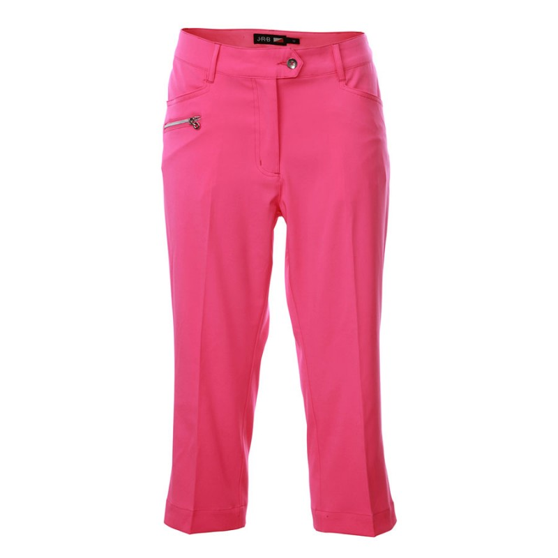 JRB Women's Golf Capri Trousers - Pink