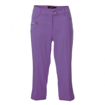 JRB Women's Golf Capri Trousers - Purple