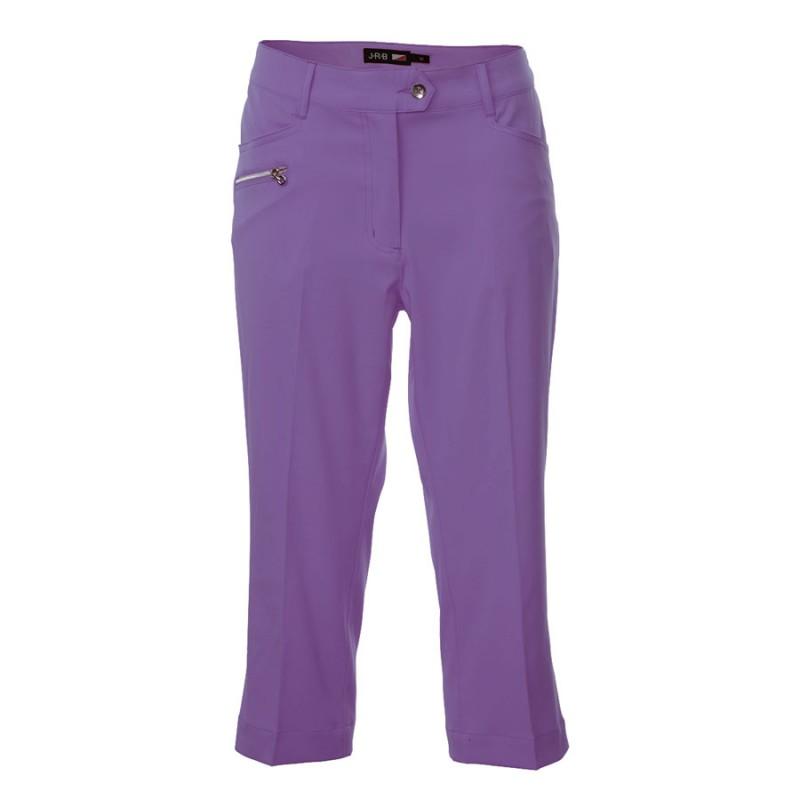 JRB Women's Golf Capri Trousers - Purple
