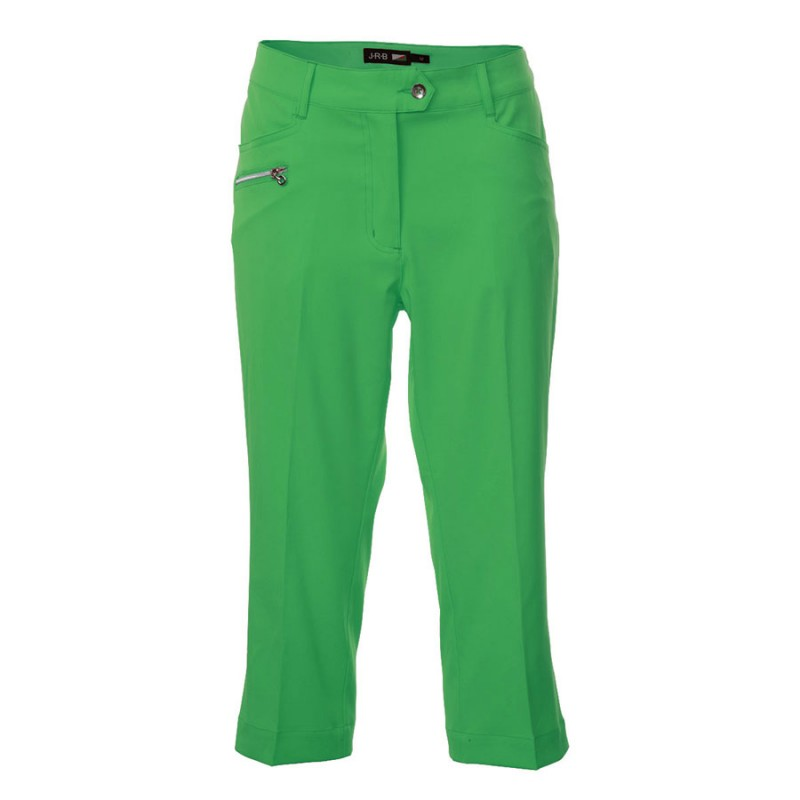 JRB Women's Golf Capri Trousers - Green