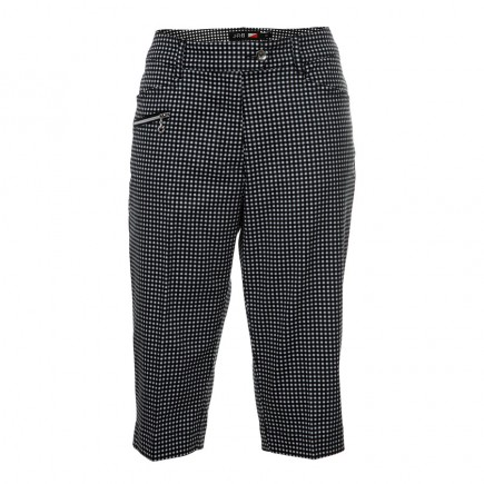 JRB Women's Golf City Shorts - Black Gingham