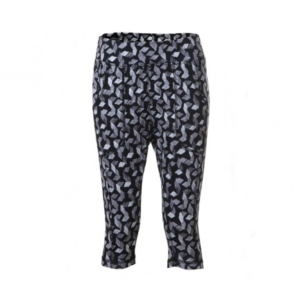 JRB Women's Golf Leggings - Navy with Diamond Pattern