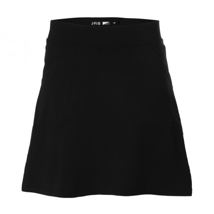 JRB Women's 'Pull On' Golf Skort - Black