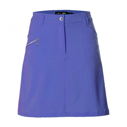 JRB Women's Golf Skort - Dusted Peri Blue
