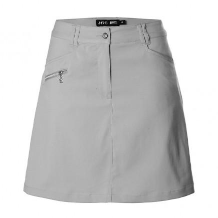 JRB Women's Golf Skort - Light Grey