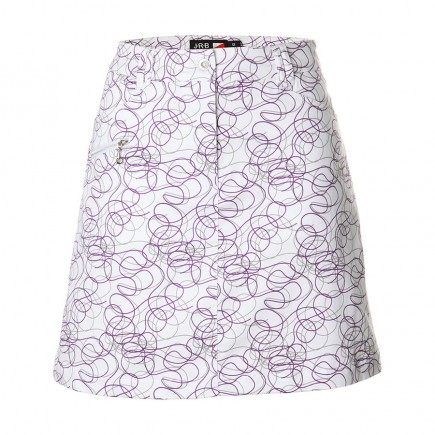 JRB Women's Golf Skort - Purple Twirl