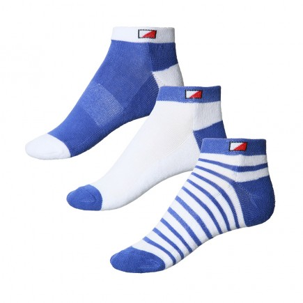 JRB Women's Golf Socks - Dusted Peri Blue - Pack of 3 Pairs