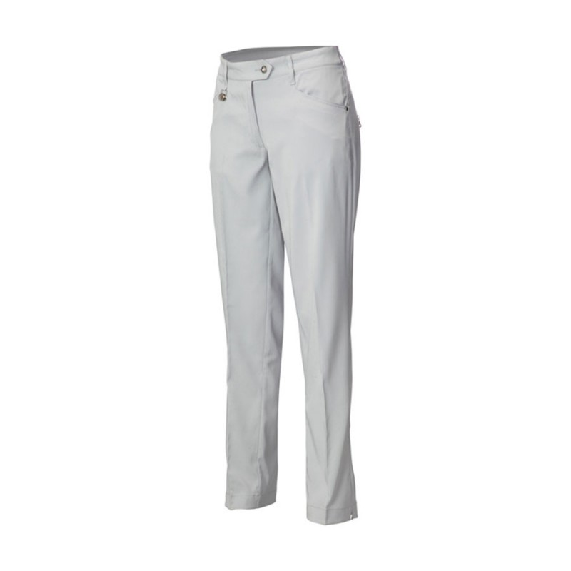 JRB Women's Golf Dry-Fit Trousers - Light Grey